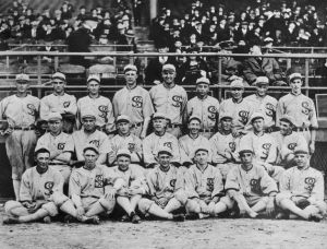 Group Shot of 1919 White Sox